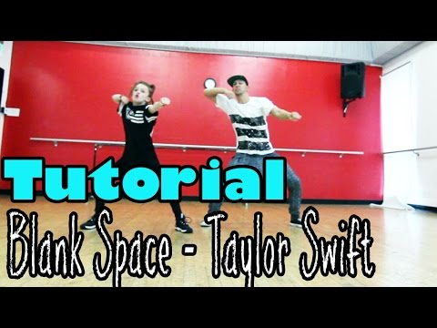 BLANK SPACE - Taylor Swift Dance TUTORIAL | @MattSteffanina Choreography (ft 11 y/o Taylor Hatala)
