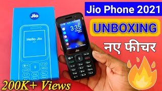Reliance Jio New Jio Phone Unboxing 🔥 Jio New 4G feature Phone 2021 Unboxing