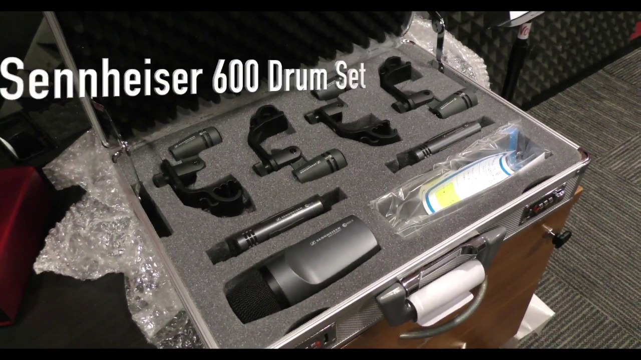 sennheiser 600 drums mic set performance review voice tech talk youtube. Black Bedroom Furniture Sets. Home Design Ideas