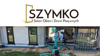 SZYMKO Prawidłowy montaż okien aluminiowych w Osowiczach k. Białegostoku