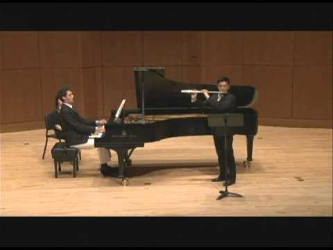 C. Franck - Sonata for Flute and Piano (IV. Allegretto poco mosso)