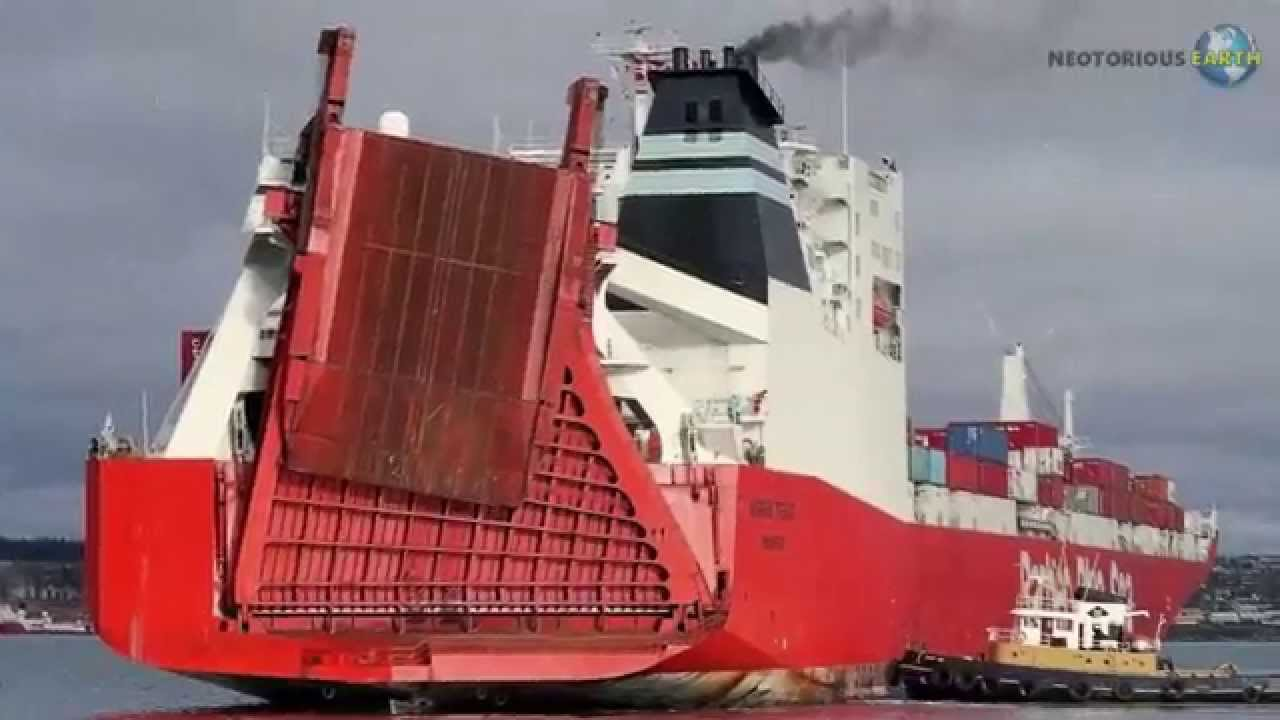 Ship Pollution : The Danger Of Bunker Fuel - YouTube