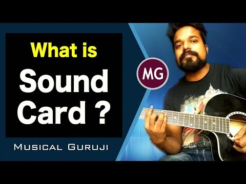 What is Sound Card ?? Explained in HINDI || Musical Guruji