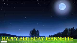 Jeannette  Moon La Luna - Happy Birthday