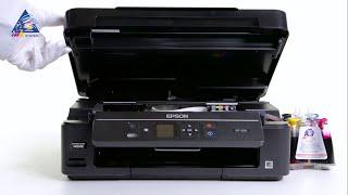 Промывка печатающей головки на примере Epson XP-320/332/342/330/340