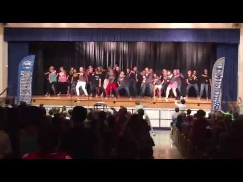 Mickle Middle School Flash Mob - Sept. 4, 2015