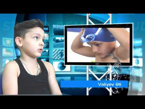 Uşaq Paralimpiya Komitəsinin üzgüçüsü Vəliyev Əli