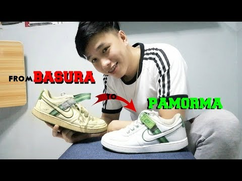 Ukay Ukay Shoes FULL RESTORATION ( from basura to PAMORMA )