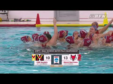 Water Polo Wins the 2021 MAAC Championship