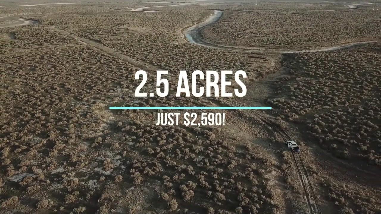 2.5 Acres - Cheap Off Grid Land!