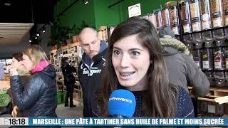 Marseille : une pâte à tartiner  sans huile de palme et moins sucrée