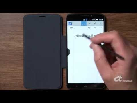 Android-Phablet Alcatel One Touch Hero mit kapazitivem Stift