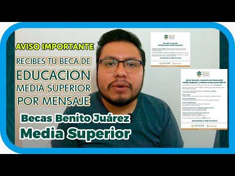 COBRAS por MENSAJE lo que PAGAN de las BECAS BENITO JUAREZ 2021 │ EDUCACION MEDIA SUPERIOR