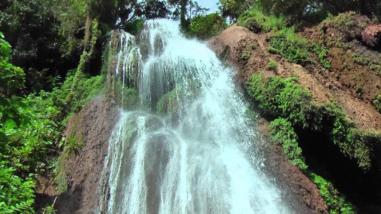 Clearest Water In The World The Salto El Rocio Waterfall Parque Guanayara Topes De