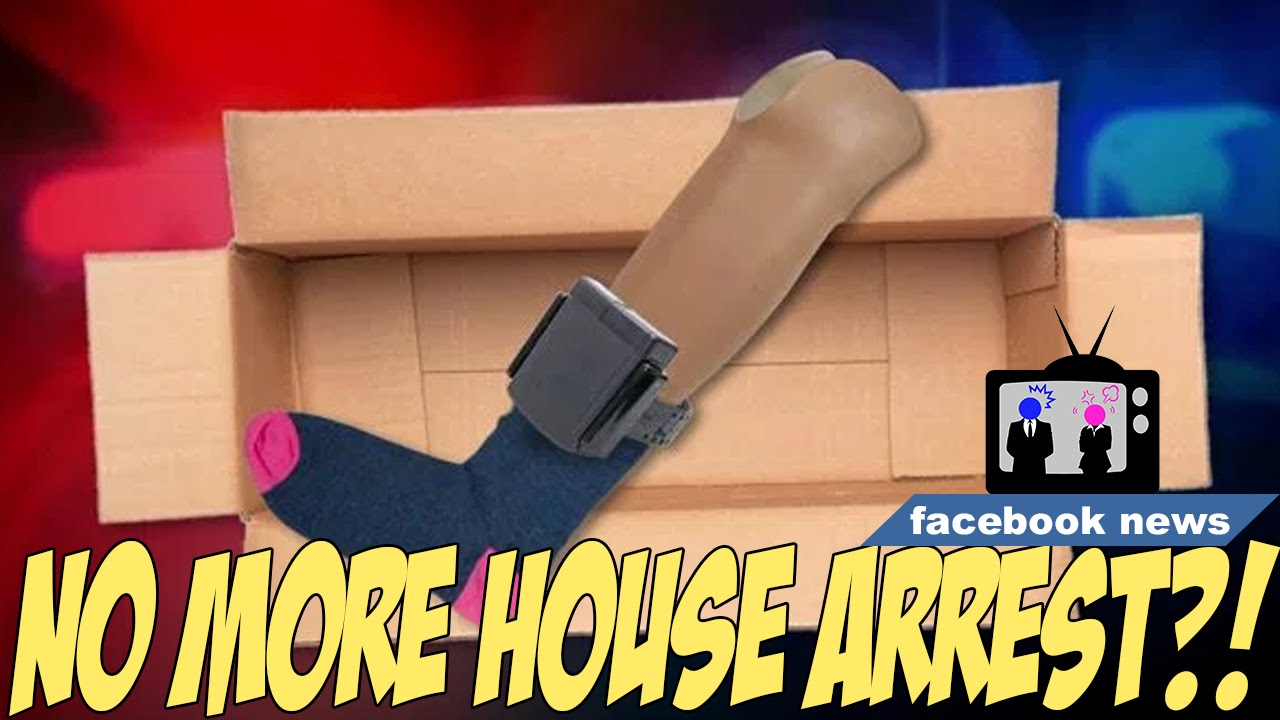 Cops Put House Arrest Gps On Fake Leg