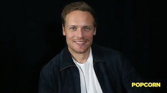 Sam Heughan talks new season of 'Outlander,' Caitriona Balfe