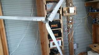 Мой ветряк с дисковым генератором, косяки и недочёты, поломки