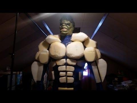 DIY HULK COSTUME: Hulk Costume Tutorial PART 3