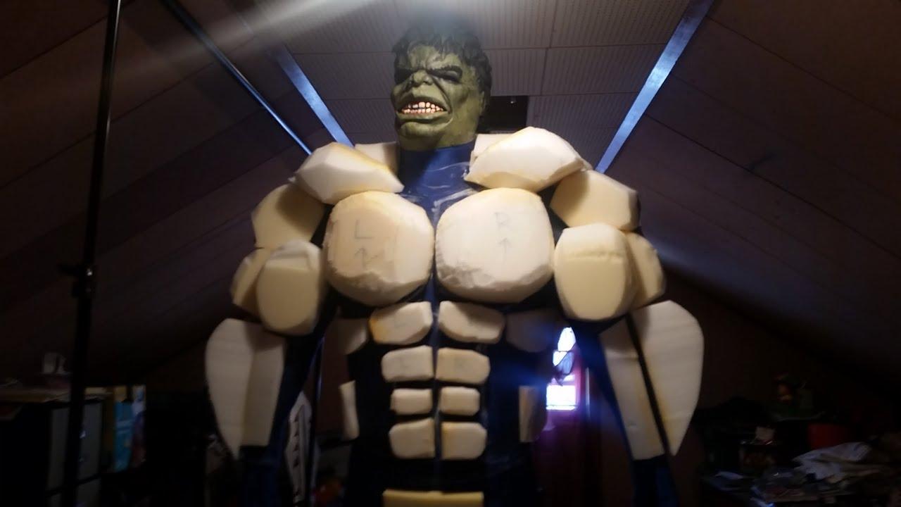 Diy hulk costume hulk costume tutorial part 3 youtube solutioingenieria Choice Image