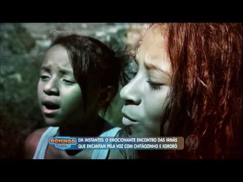 Domingo Show visita as irmãs cantoras que vivem no Nordeste