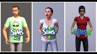 ♦ Sims 2 vs Sims 3 vs Sims 4 : Life (Part 1)(, 2016-08-05T04:09:53.000Z)
