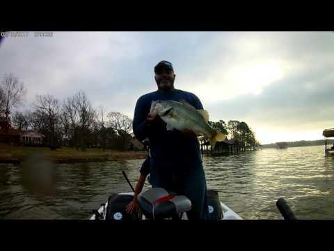 Bass Fishing Cedar Creek Lake