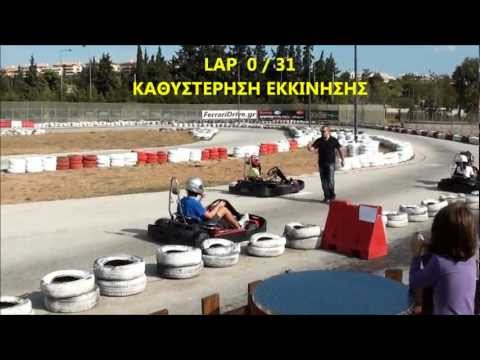 F1 Fans Kart Challenge Athens 2012 - Αγώνας σκυταλοδρομίας ( 1 / 5 Part )
