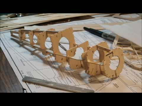 Guillow's Cessna 170 balsa wood kit build and Final