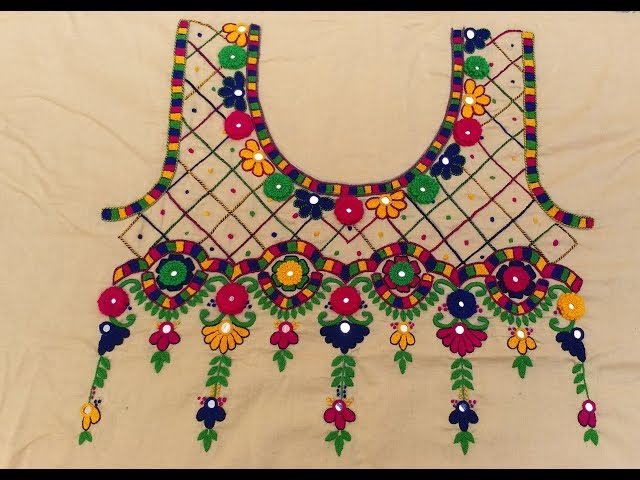 HAND EMBROIDERY : ROOTED / JAALI DESIGN /PART-2