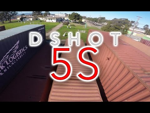 First Race with DShot