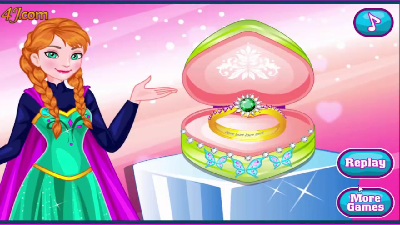 Disney Frozen Games Anna\'s Glittery Fashion and Design Anna\'s ...
