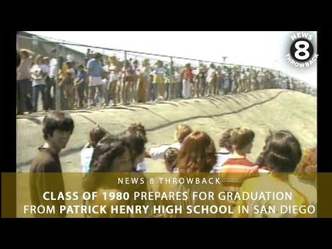 Class of 1980 prepares for graduation from Patrick Henry High School