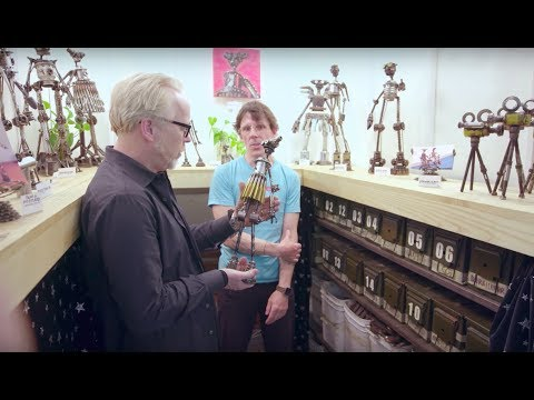 Adam Savage's Maker Tour: Artists of Artisan's Asylum