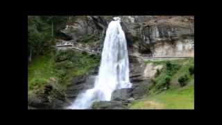 Norwegen: Steinsdalsfossen - Wasserfall im Norheimsund, Hardanger - Teil 9