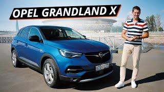 Что Opel Grandland X предлагает покупателям в 2020 году? Возможности кроссовера | Наши тесты