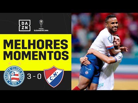 Bahia 3 x 0 Nacional | Copa Sul-Americana | Melhores Momentos