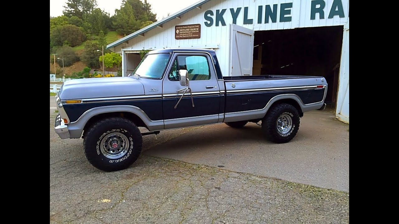 1978 Ford F-150 4x4 California Truck