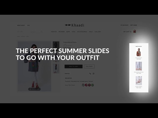 Khaadi New Website Launched