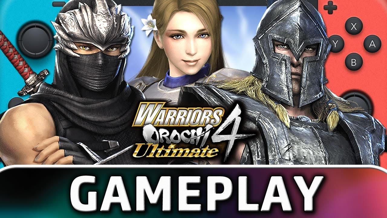Warriors Orochi 4 Ultimate | 15 Minutes of Gameplay on Nintendo Switch