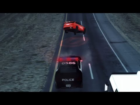 Rush Hour 3D - POLICE CHASE!!