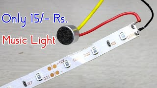Make Led Strip Music Light Sound Detector
