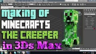 3Ds Max Tutorial: Making Minecraft's Creeper