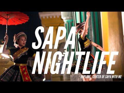 Vietnam Nightlife : Amazing Sapa weekend party in 2020 (little food tour )