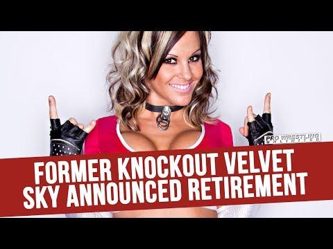 Former Knockout Velvet Sky Announces Her Retirement