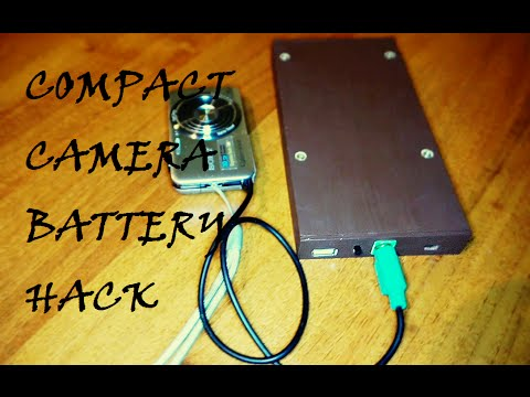 HOW TO MAKE AN EXTERNAL BATTERY FOR A CAMERA - DIY BATTERY HACK
