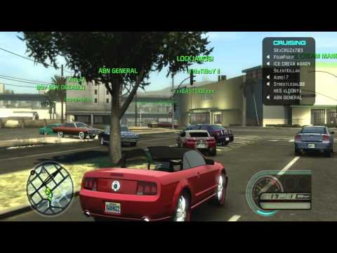 MCLA MIDNIGHT CLUB LOS ANGELES ONLINE CRUISE LOWRIDERS/DONKS/SLABS/TUNERS HD 1080p
