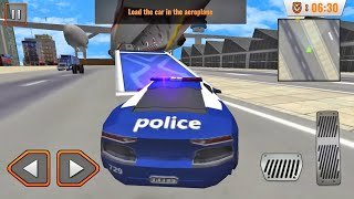Juegos de Carros - Avión Transportador de Carros de Policia - Videos