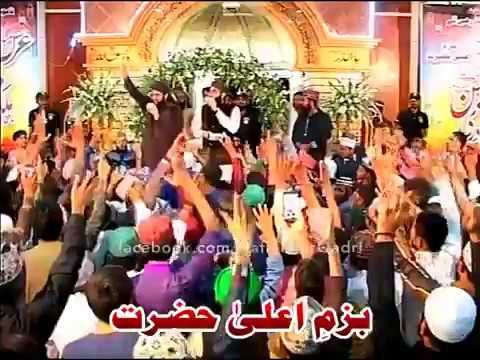 Hafiz Tahir Raza Qadri New Mehfil Bazme Aala Hazrat 2017 At Karachi 5th March 2017