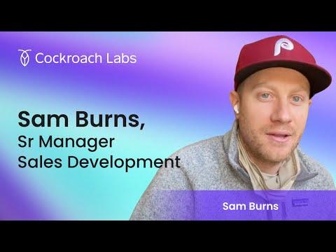Roacher of the Week: Sam Burns, Senior Manager of Sales Development