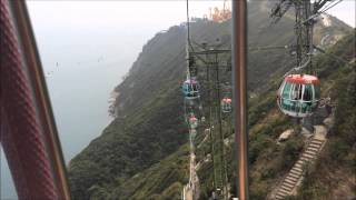 Ocean Park Hong Kong Cable Car Ride Summit to Entrance